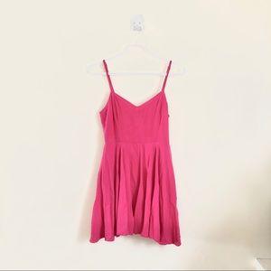💕 Aritzia TALULA Hot Pink Lipinski Dress Sz 6 💕